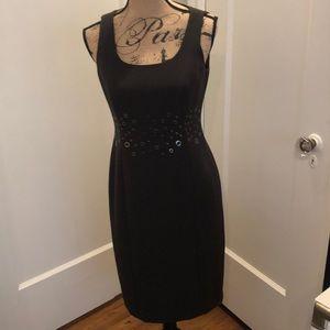 W by Worth brown slimline dress